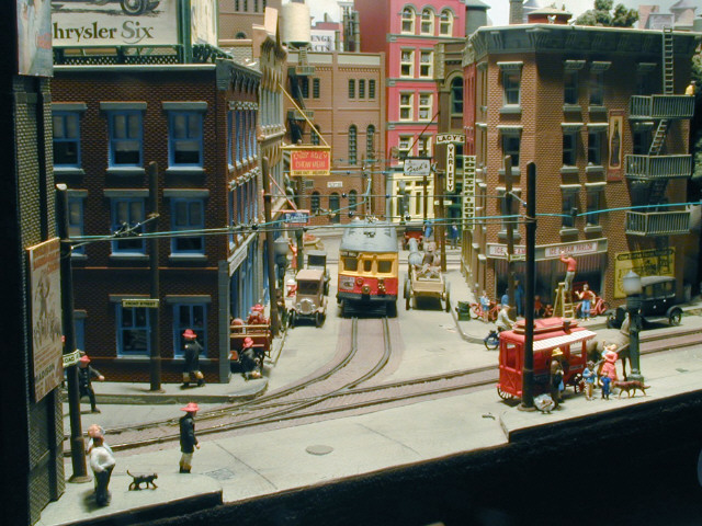 Off my trolley - streetcars and trolley layouts (1/5)