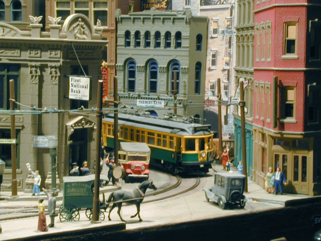 Off my trolley - streetcars and trolley layouts (2/5)