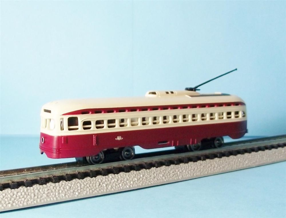 Off my trolley - modelling traction in N (2/6)