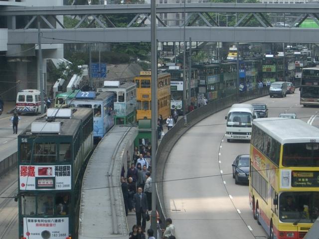 Hk_tram_jam