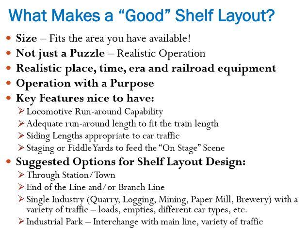 Shelf layout design | esngblog